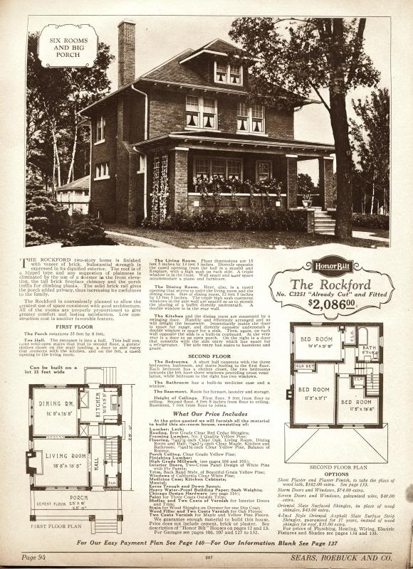 The Rockford, the kit home Wandering Acres is loosely based upon.