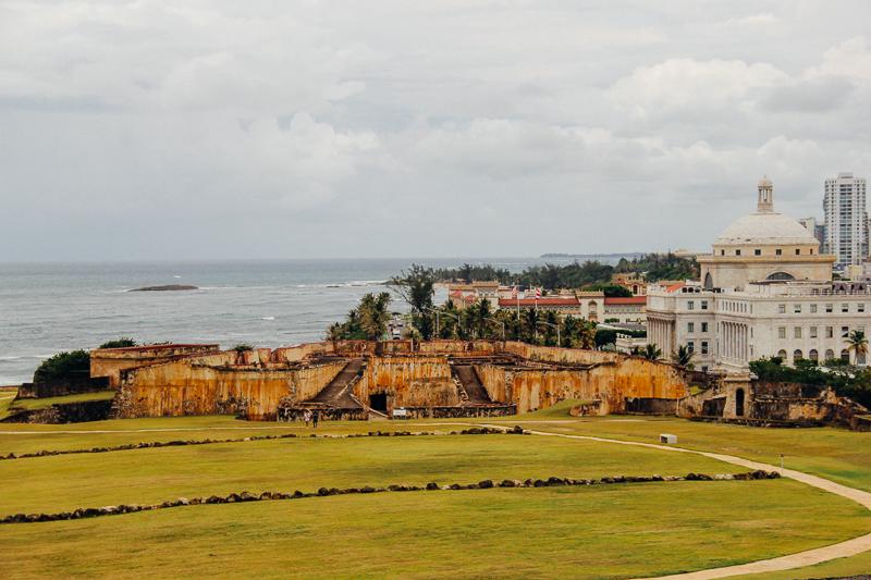The View from Castillo San Cristobal