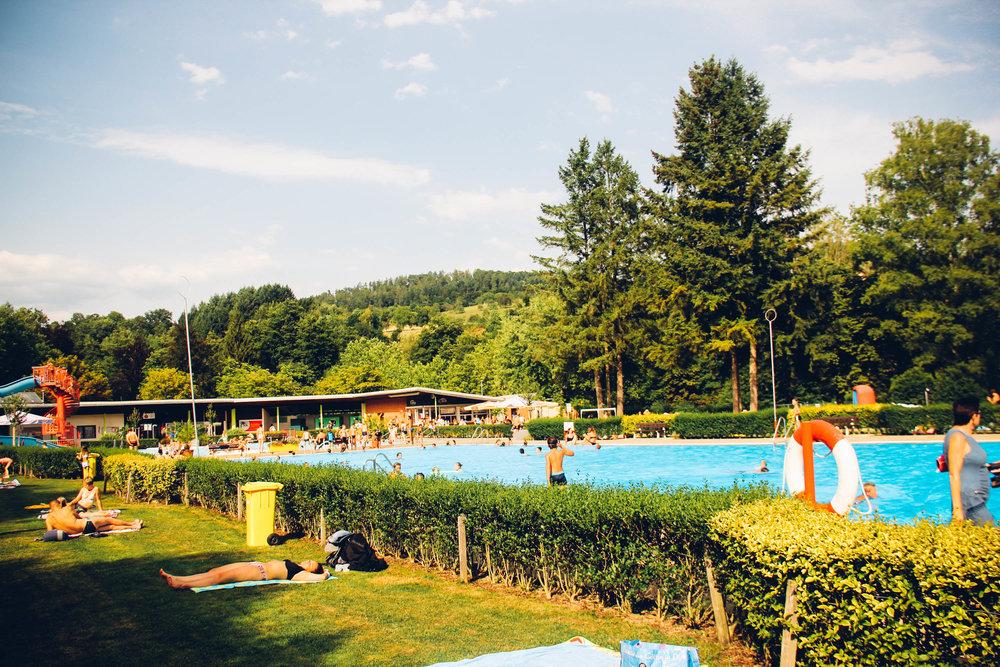 Schwimmbod- Kandern, Germany