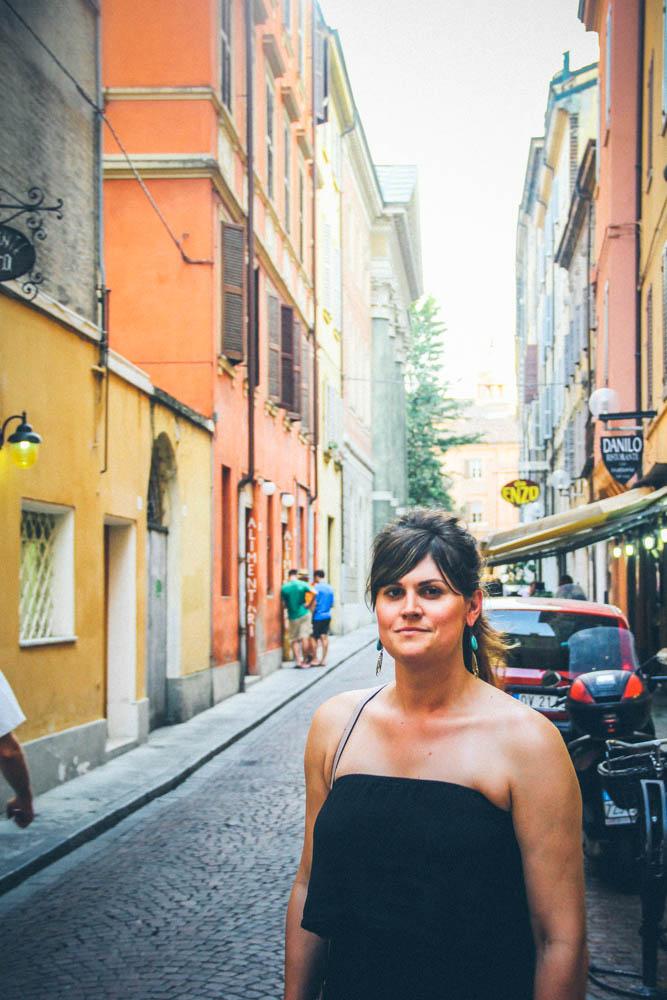 Lauren in Modena, Italy
