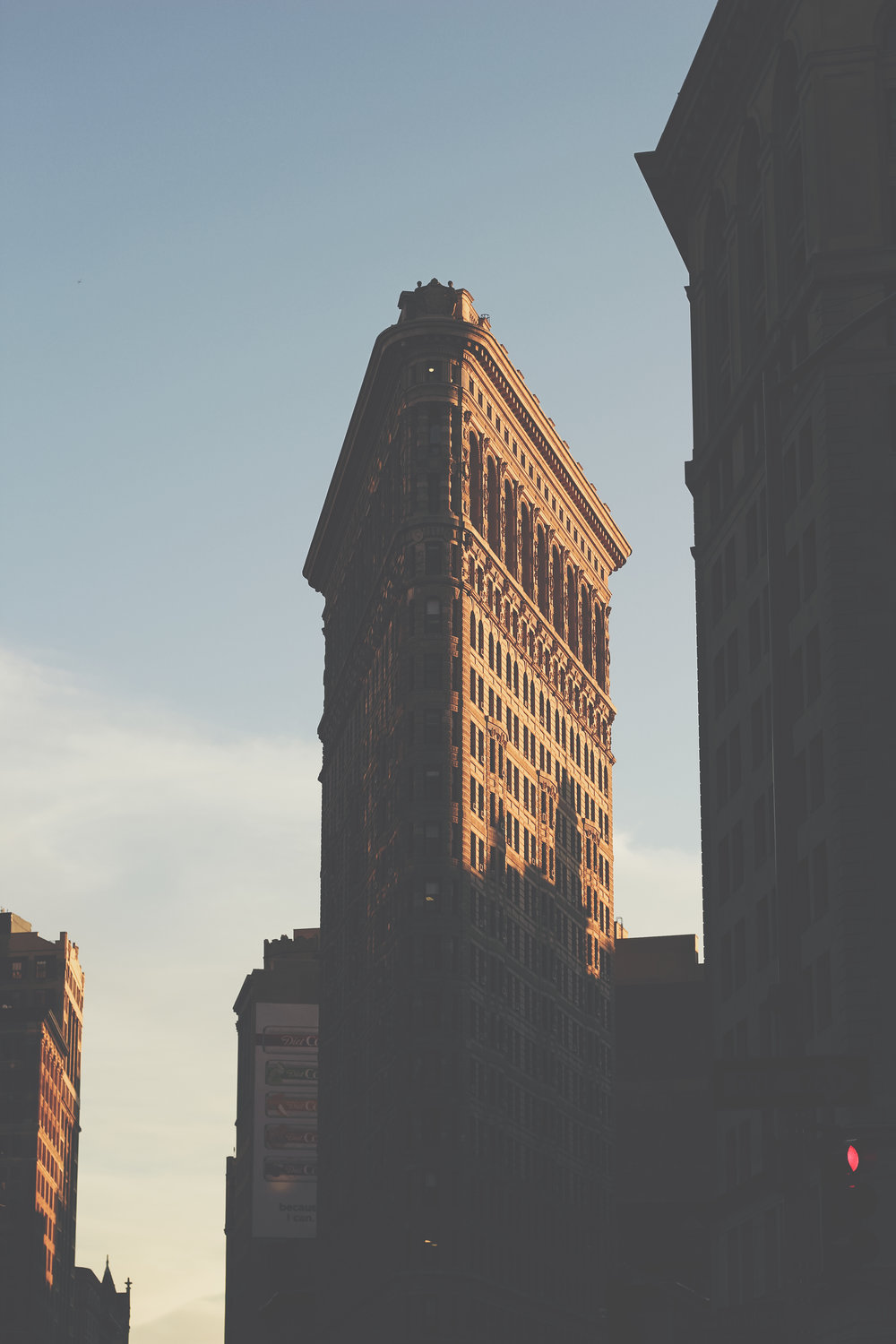 """Flatiron with Shadow"""