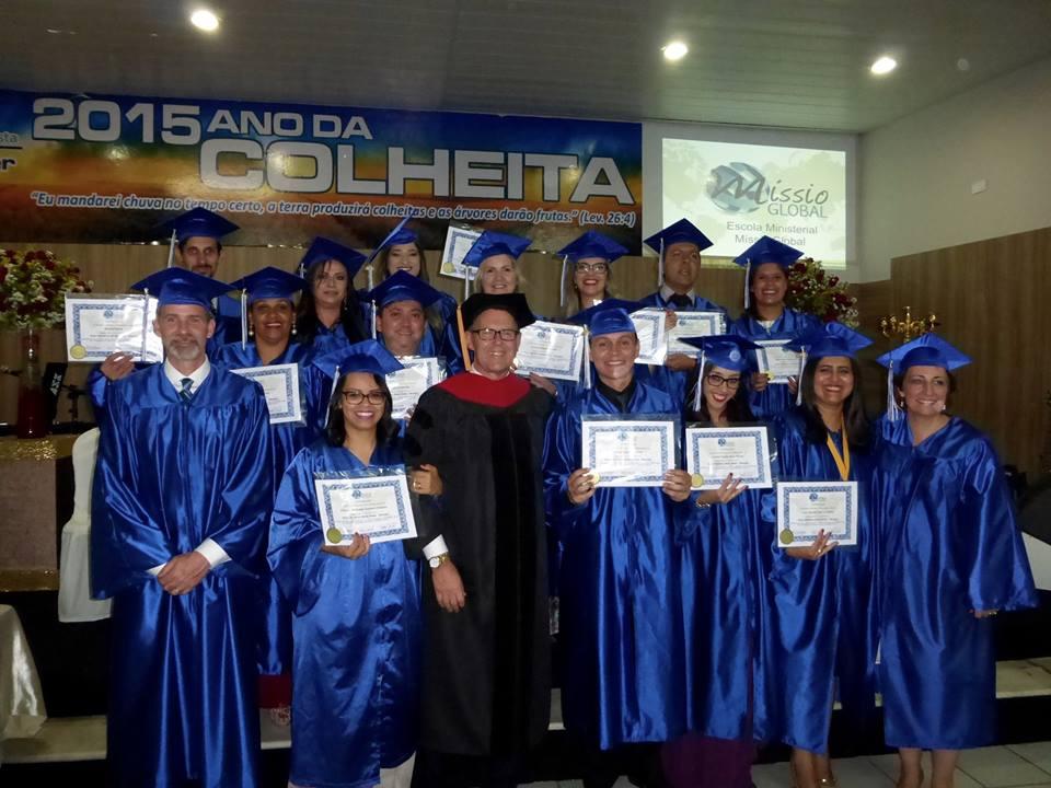 Our first international graduation - Garanhuns, Brazil