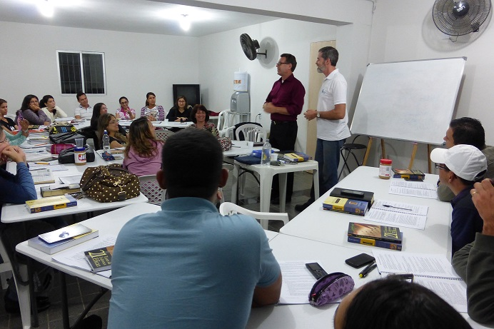 Local church leaders invest into the developing leaders in their church in a positive learning community.