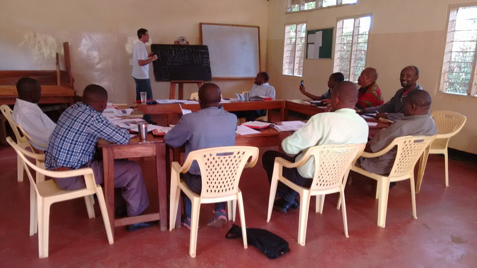 Training for Schools in Tanzania and Kenya.