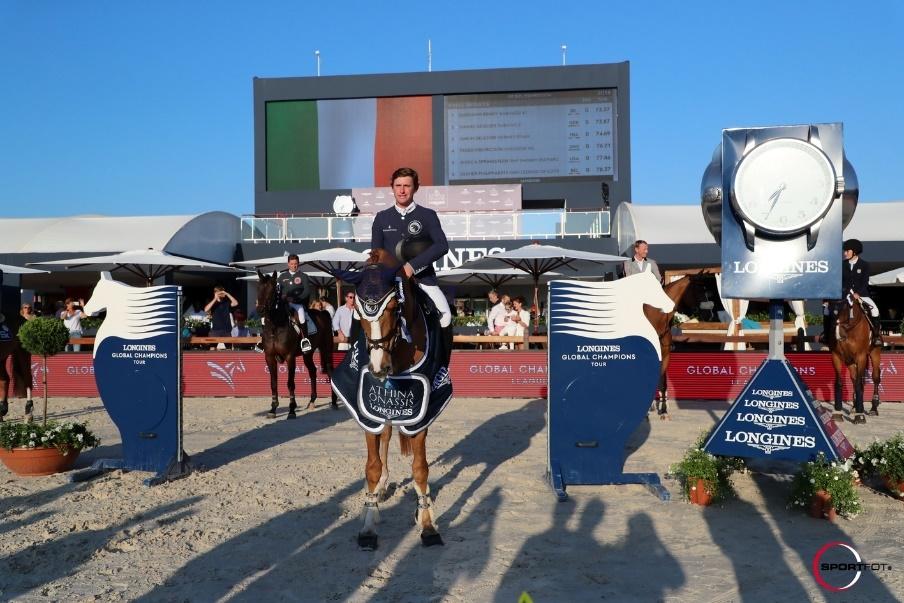 Darragh riding Babalou 41 - St. Tropez, France