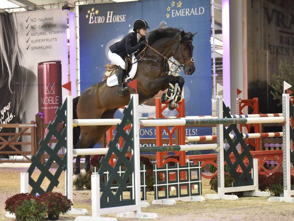 Capital Colnardo - Born: 2005Breed: HolsteinerGender: StallionBreeding: Colman x Kosma ShivaJoined team: November 2018Ridden by: Jenn Gates