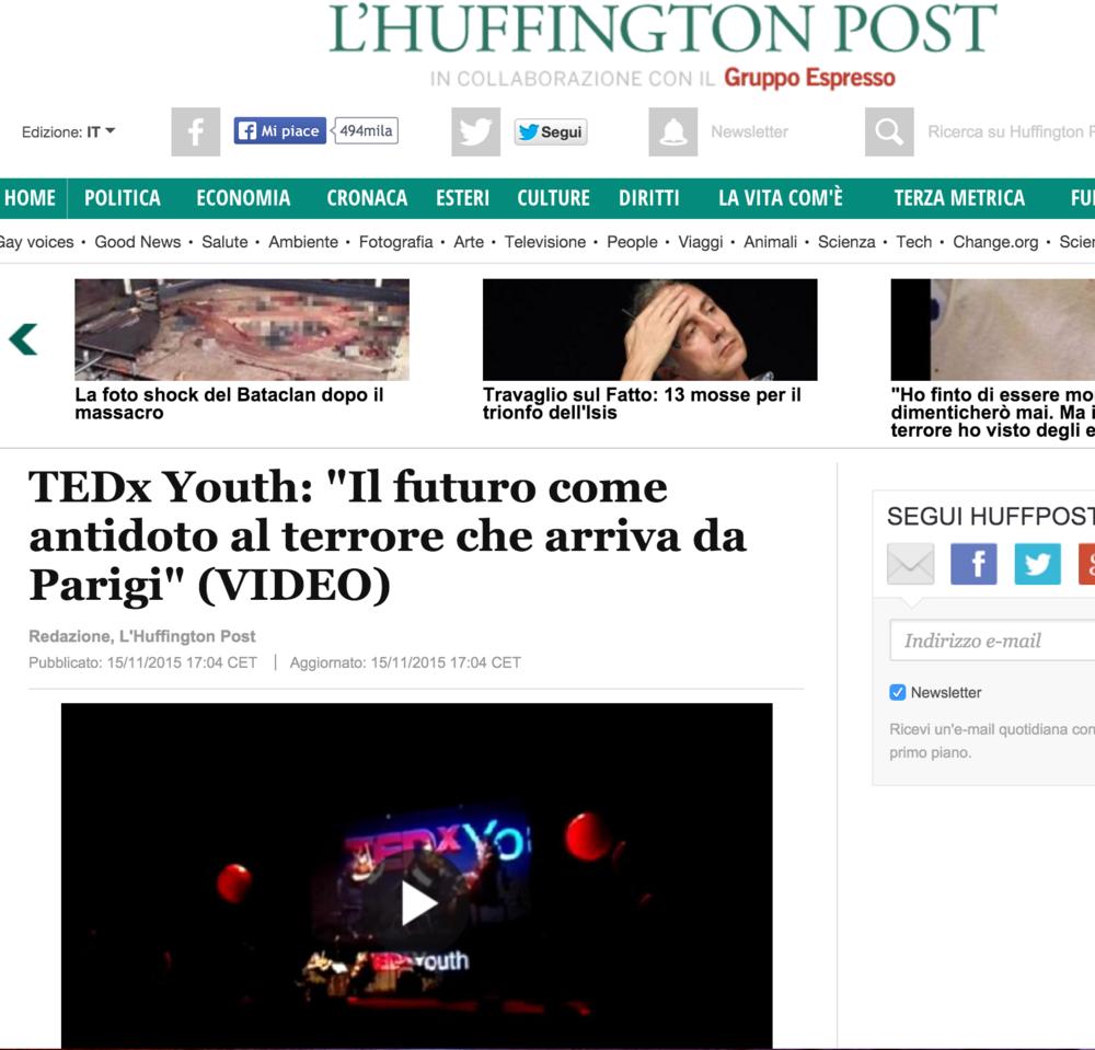 Huffington Post 17/11/2015