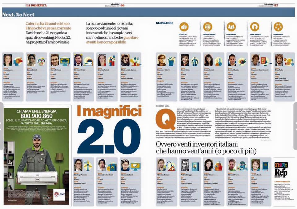 La Repubblica 5/26/2015