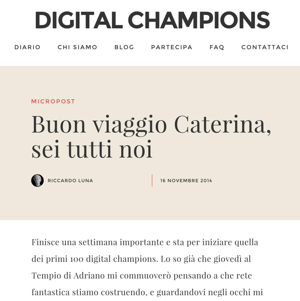 Digital Champions 11/16/2014
