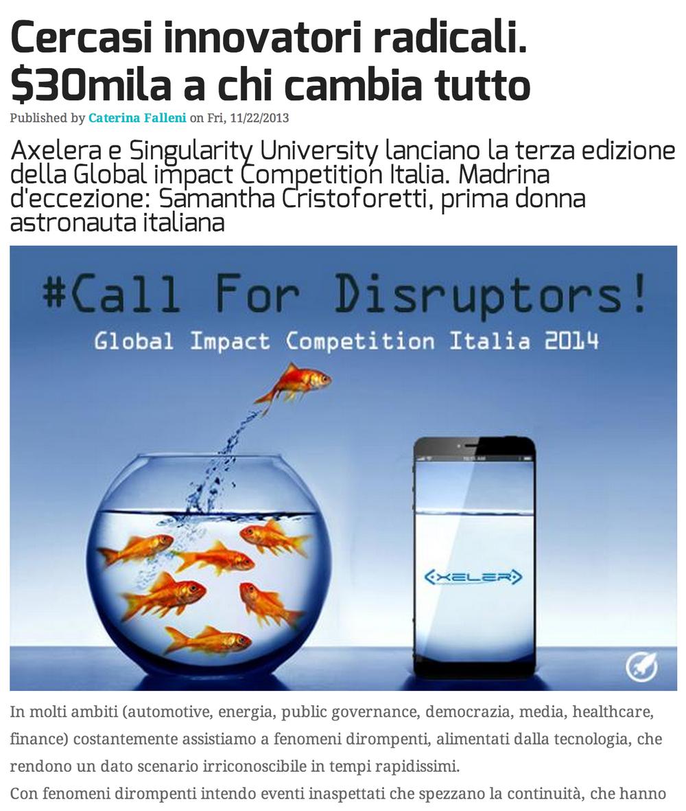 StartupItalia 11/22/2013