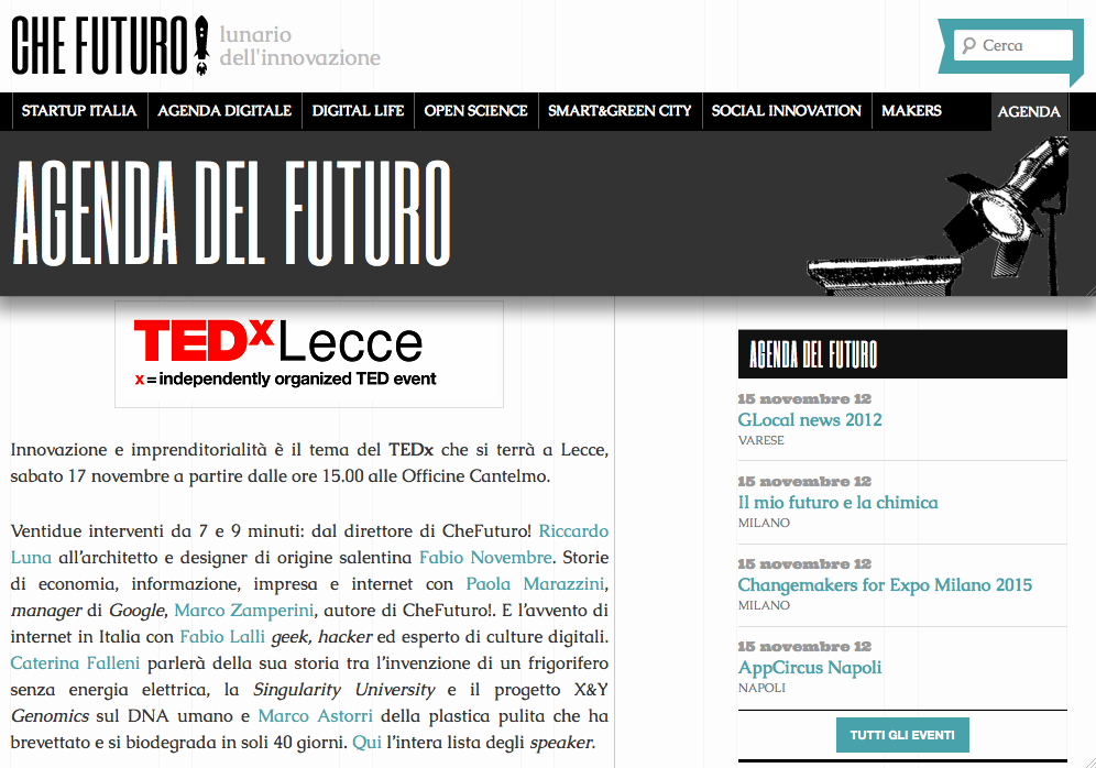 Che Futuro 11/11/2012