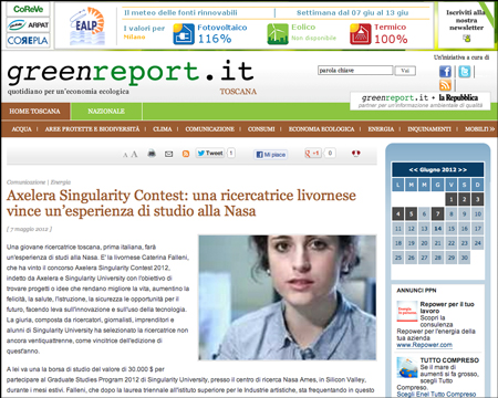 GreenReport 5/2/2012