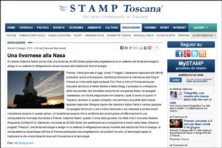 Stamp Toscana 5/13/2013