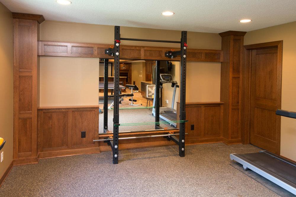 Home Gym Design Ideas — Shaeffer Design Build