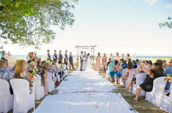 RIU Guanacaste Beach Wedding - Photo credit Jenn Kavanagh Photography