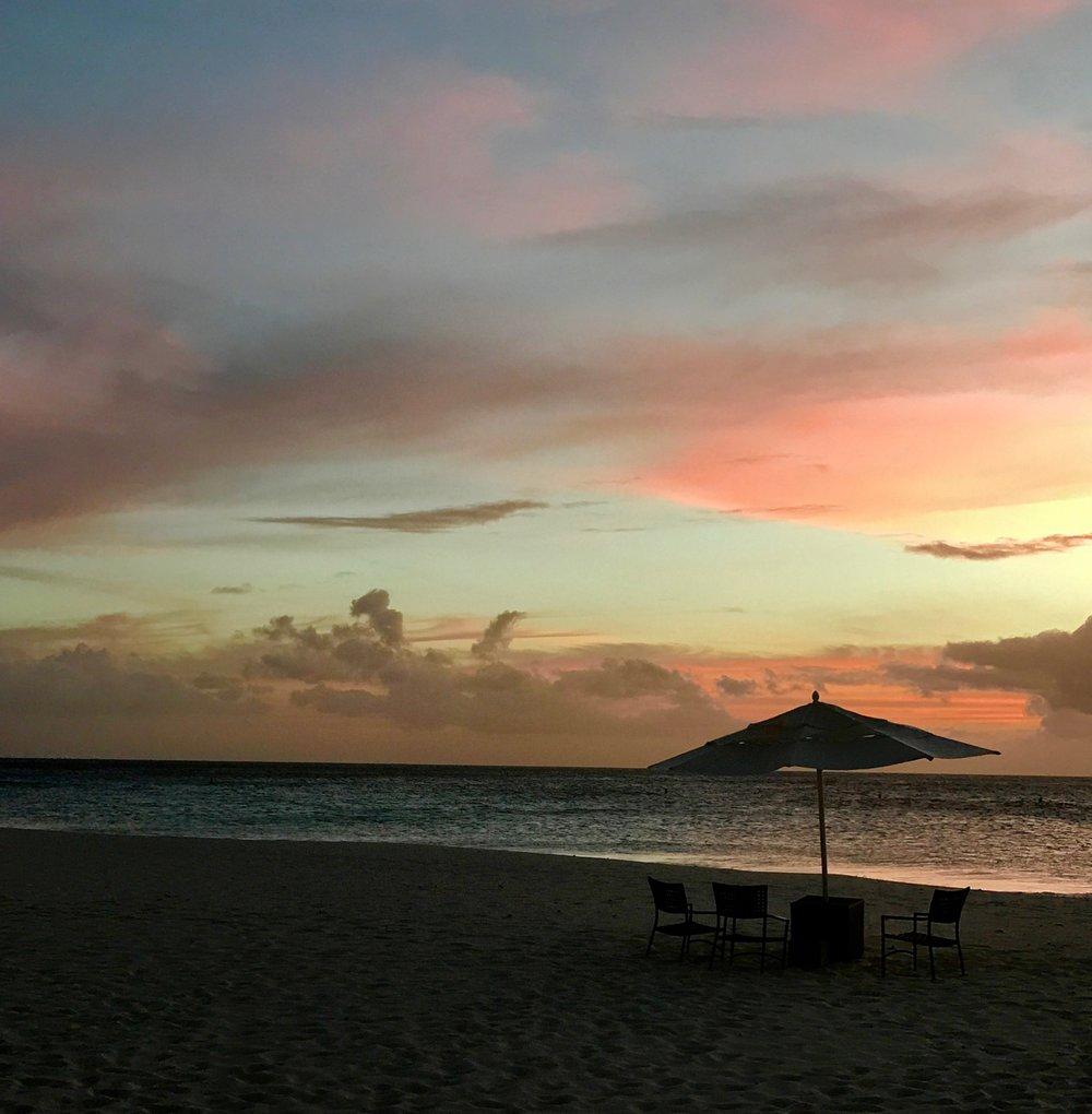 Sunset - Eagle Beach