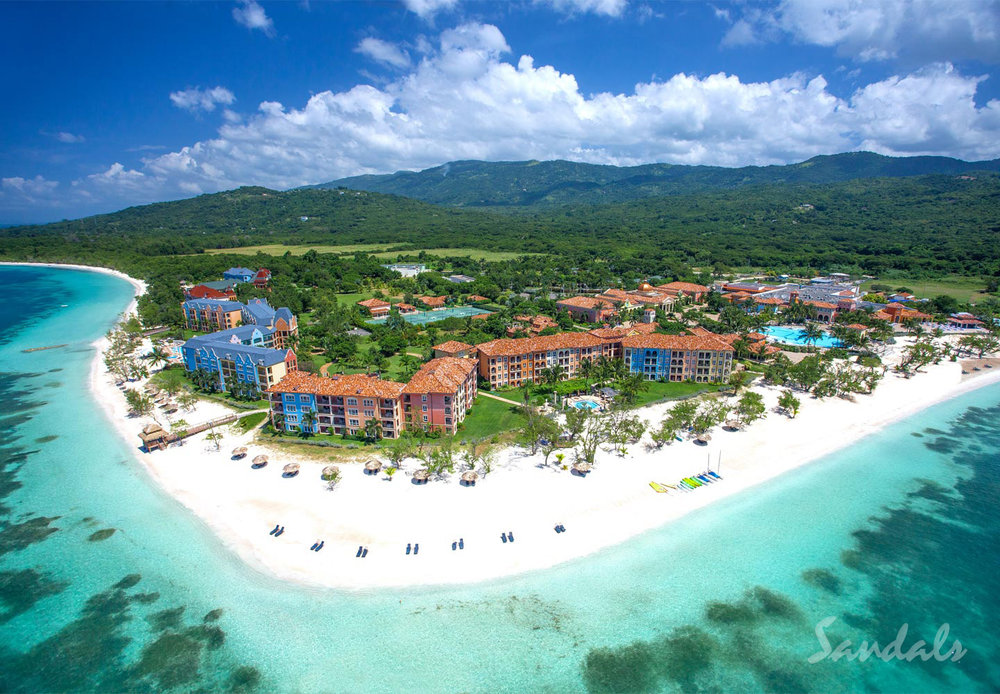 Sandals South Coast's All Beachfront