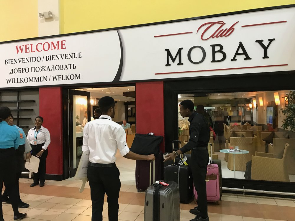Club Mobay Arrival Lounge