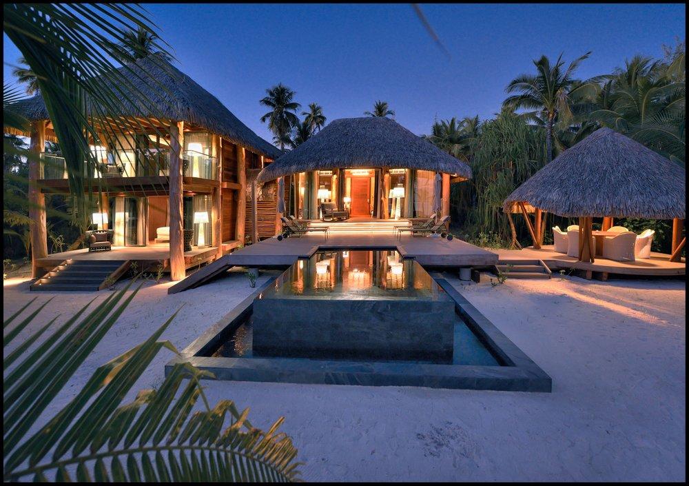 Night view 3-bedroom villa