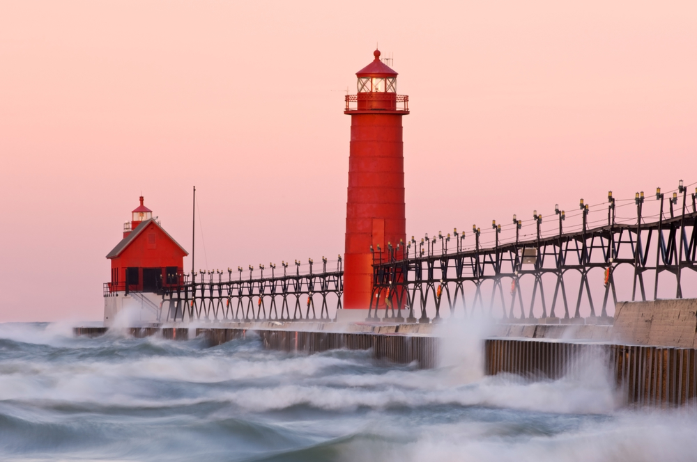 Grand Haven Light Houses