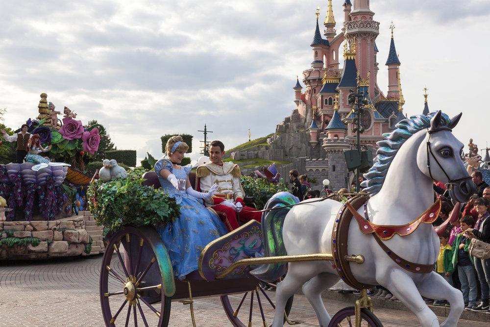 Disneyland - Cinderella & Prince Charming