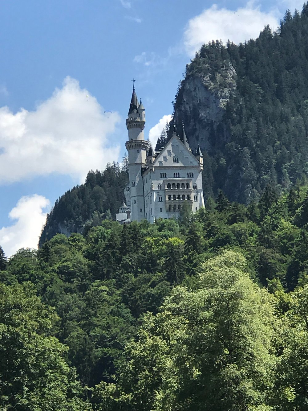 Neuschwanstein from base