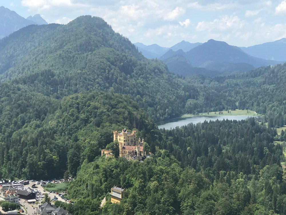Alps and Hohenschwangau