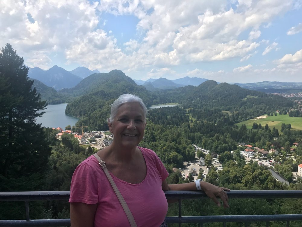 View above Neuschwanstein