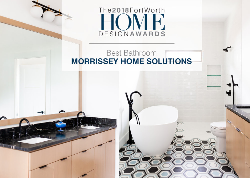 FORT WORTH HOME MAGAZINE - BEST BATHROOM