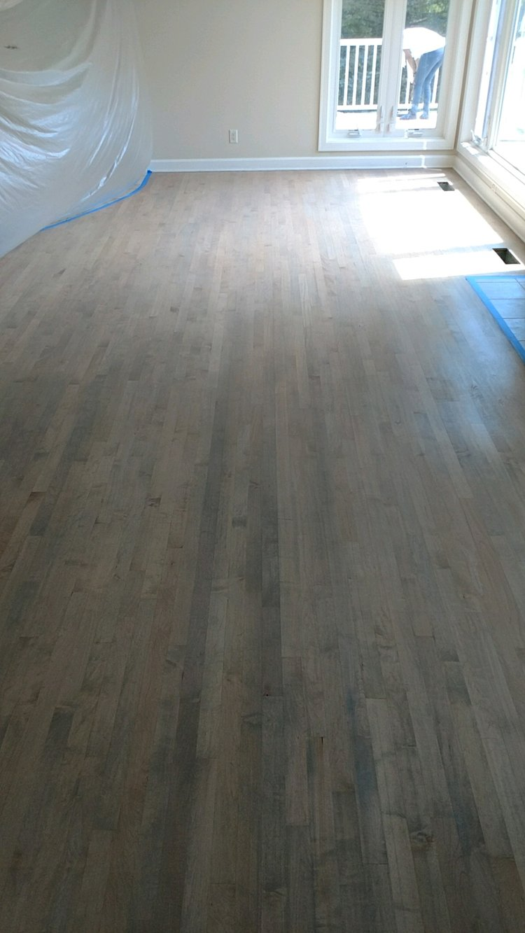 Gray Stain On Maple