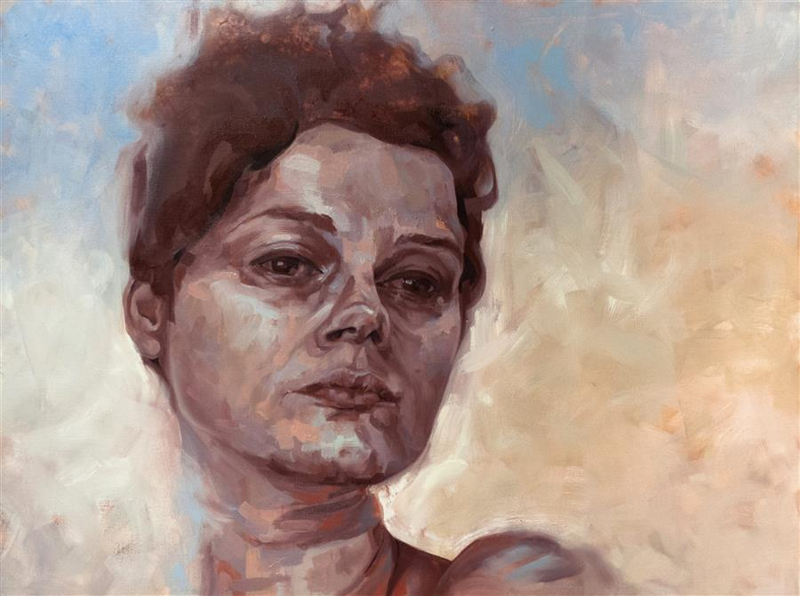 "Wistful (30"" x 40"") by Shaina Craft, oil painting"