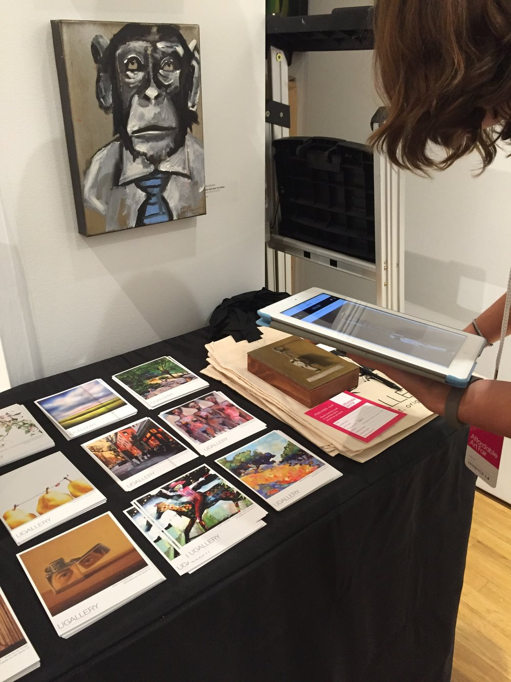 Sale of artwork by  Jose H. Alvarenga