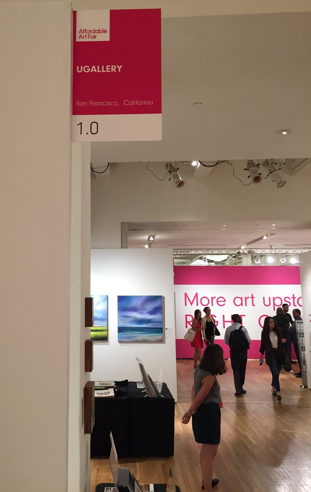 UGallery as the featured booth, #1.0