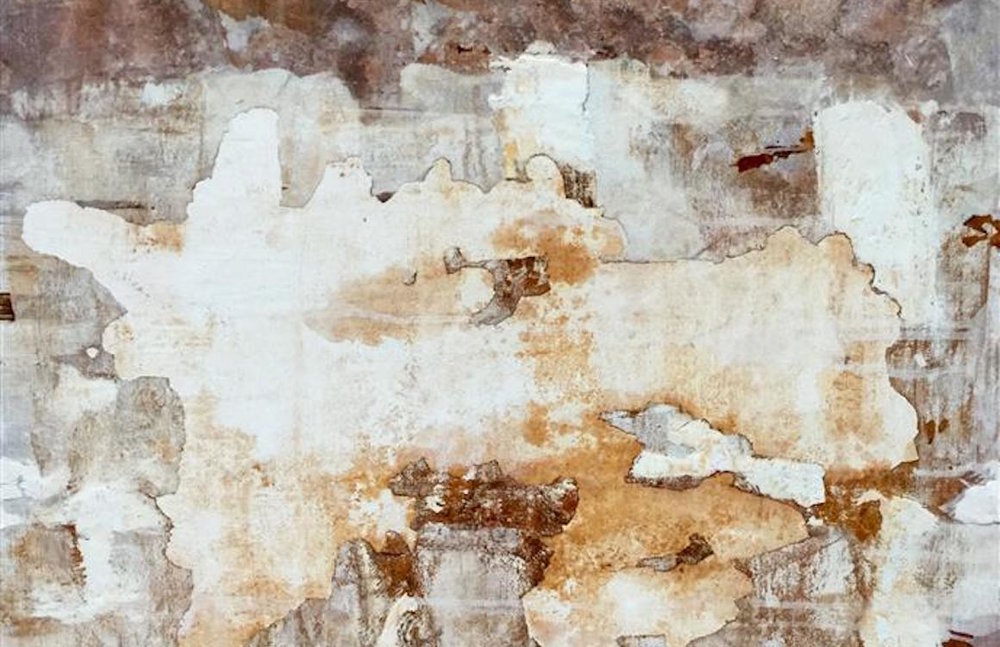 """Awall  (30"""" x 30"""") by Maya Malioutina, mixed media"""
