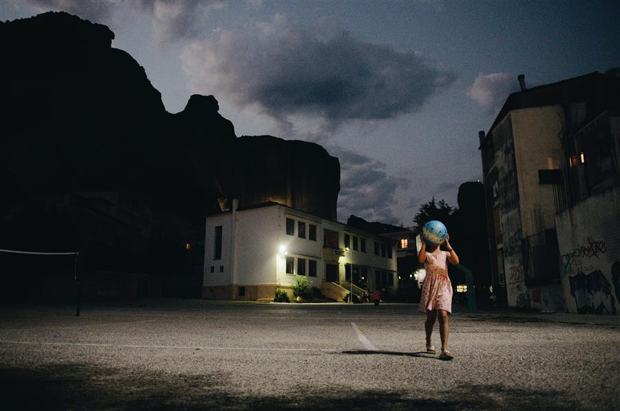 Girl With The Earth  by Konstantin Chalabov, photography