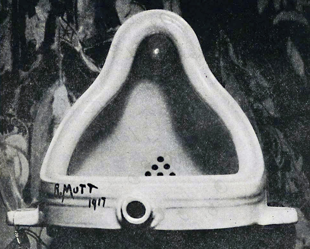The Fountain  by Marcel Duchamp, 1917