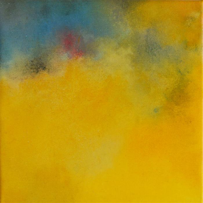 "Springtime 2  (11.8"" x 11.8"")  by Kerstin Paillard, pastel artwork"