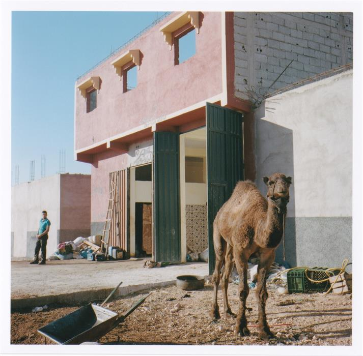 "Sidi Mohktar, Morocco  (12"" x 12"") by Martin Runel, photography on paper"