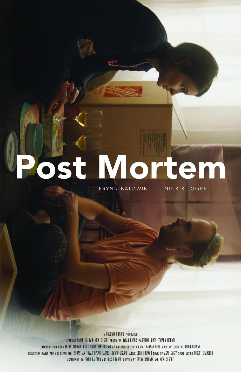 """""""Post Mortem"""" Poster"""