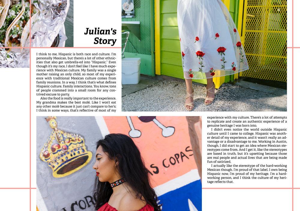 Hispanic Heritage - layout design for Cabra Magazine