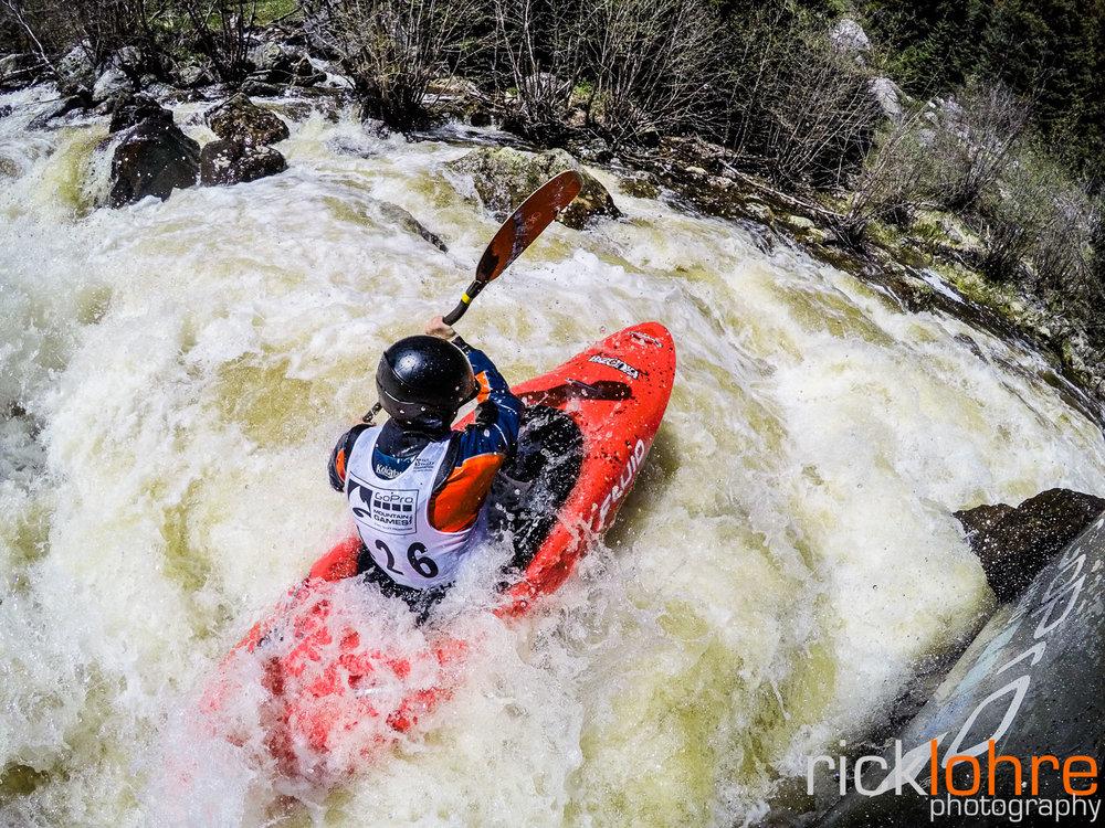 GoPro Kayak Shot in Colorado