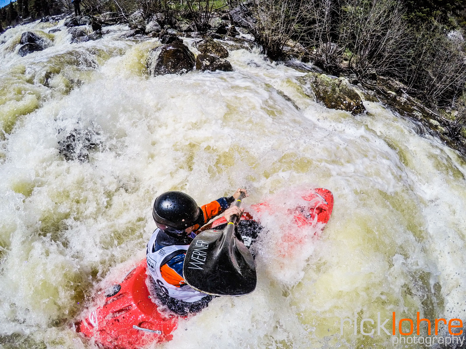 GoPro Kayak Shot in Colorado