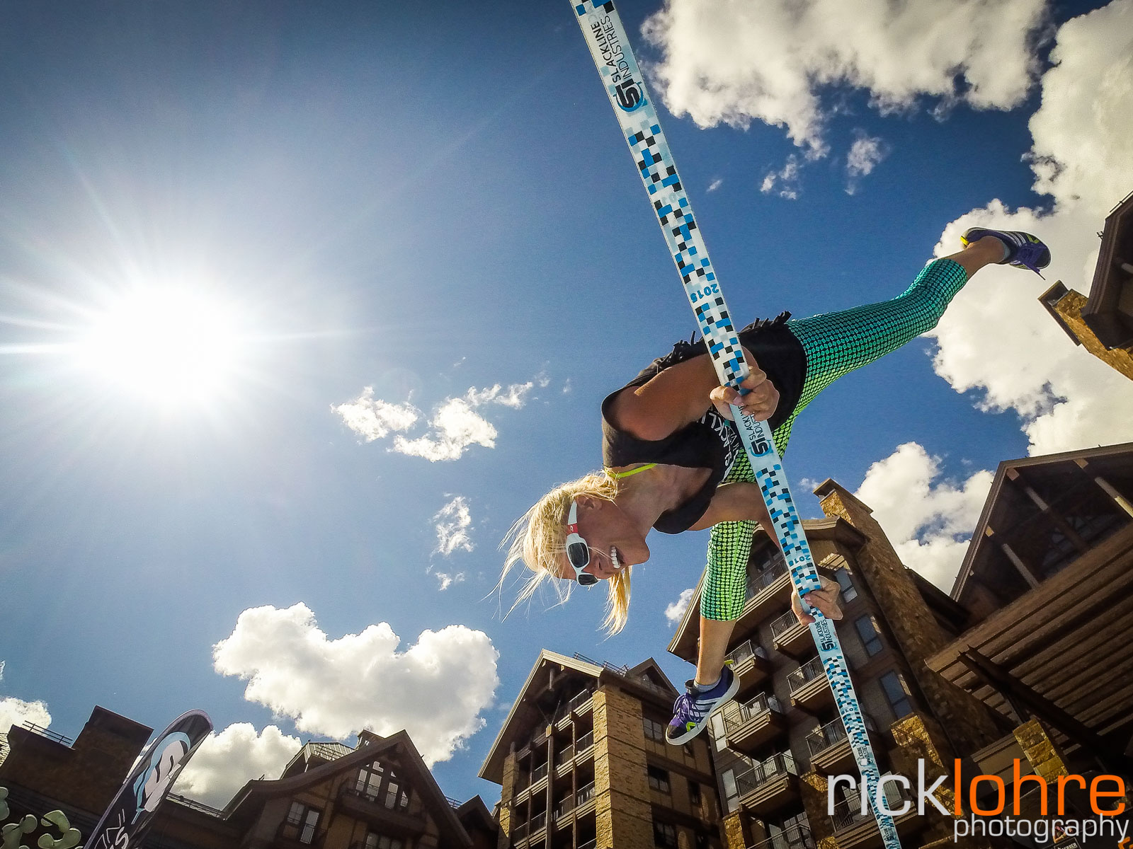 GoPro Slackline Shot in Colorado