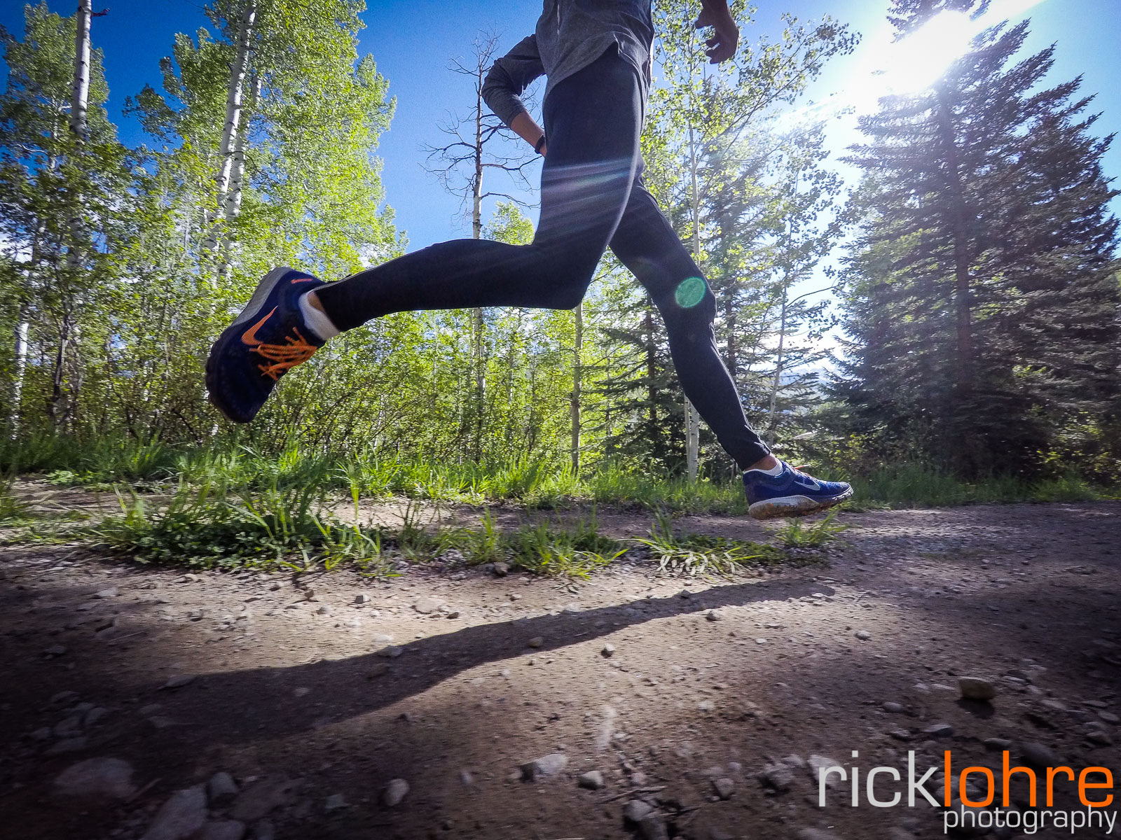 GoPro Running Shot in Colorado