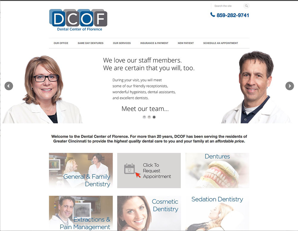 Dentist Website Photography