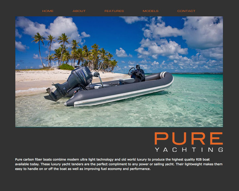 Boating Specialty Website Photography