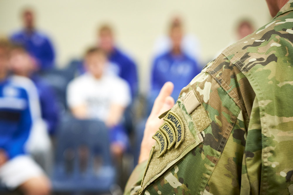 US Army SF / Green Beret - LTC Scott White - Covington Catholic Alumni '93