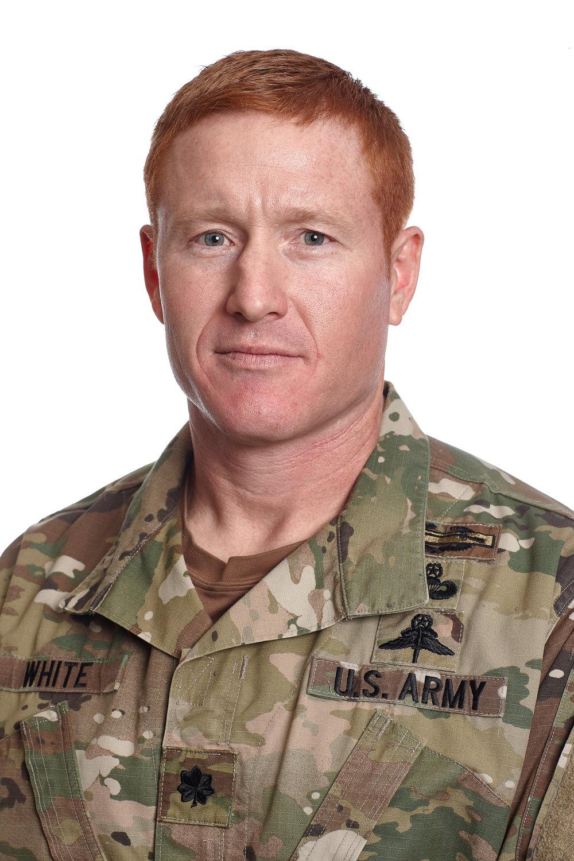 LTC Scott White US Army SF