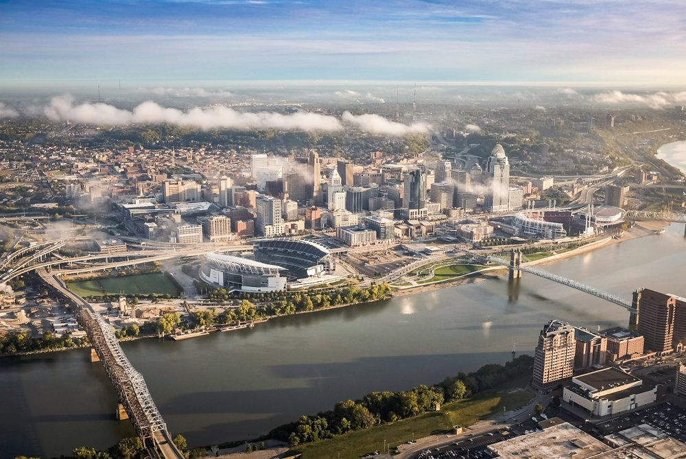 Cincinnati Aerial Photography