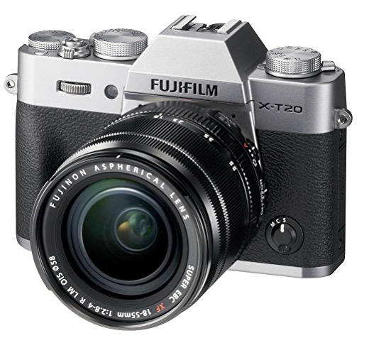 An interchangeable camera body that won't break the bank... the Fujifilm X-T20